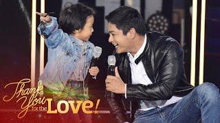 """Coco Martin and Onyok sing """"Awit ng Kabataan"""""""
