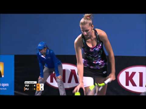 Monica Puig v Kristyna Pliskova highlights (2R) | Australian Open 2015