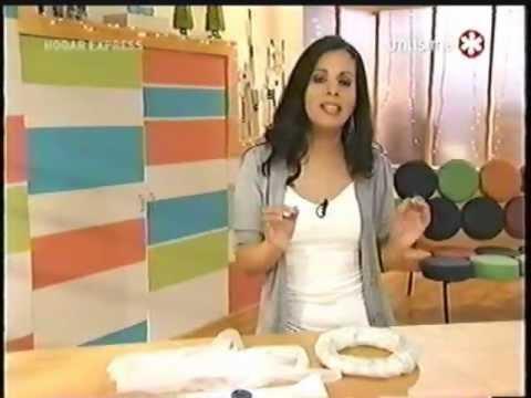 Liliana Cota Hogar Express Rosca Reciclada Youtube