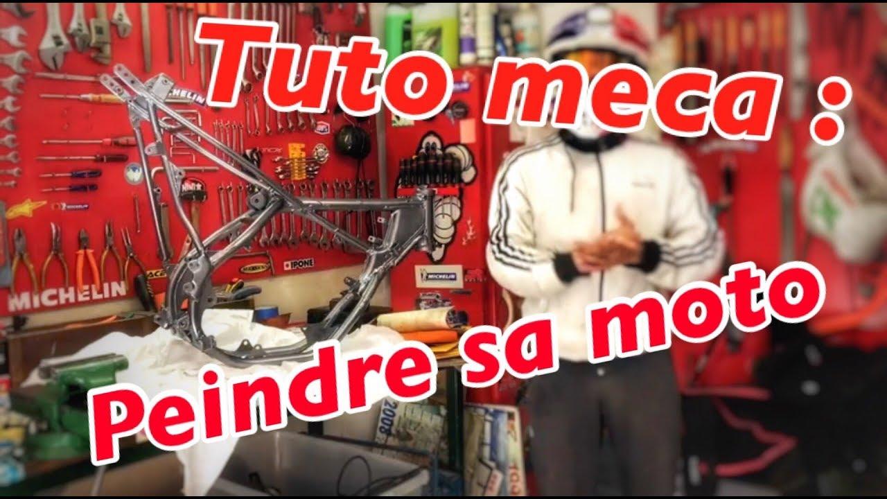 Tuto Meca Peindre Sa Moto Appret Peinture Vernis Projet 85 Youtube