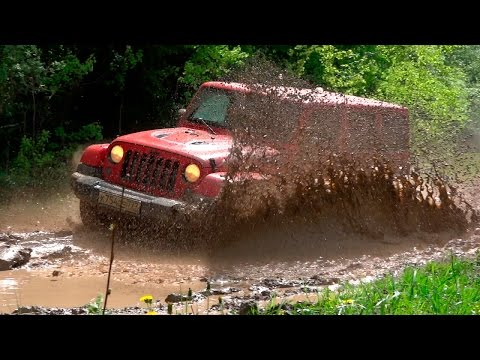 Jeep Wrangler Unlimited - Offroad тест