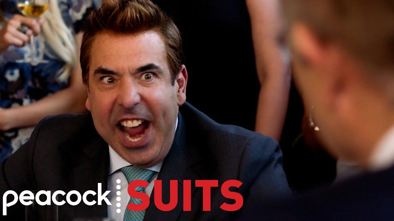 Louis Litt Pretending to be Harvey Specter | Suits