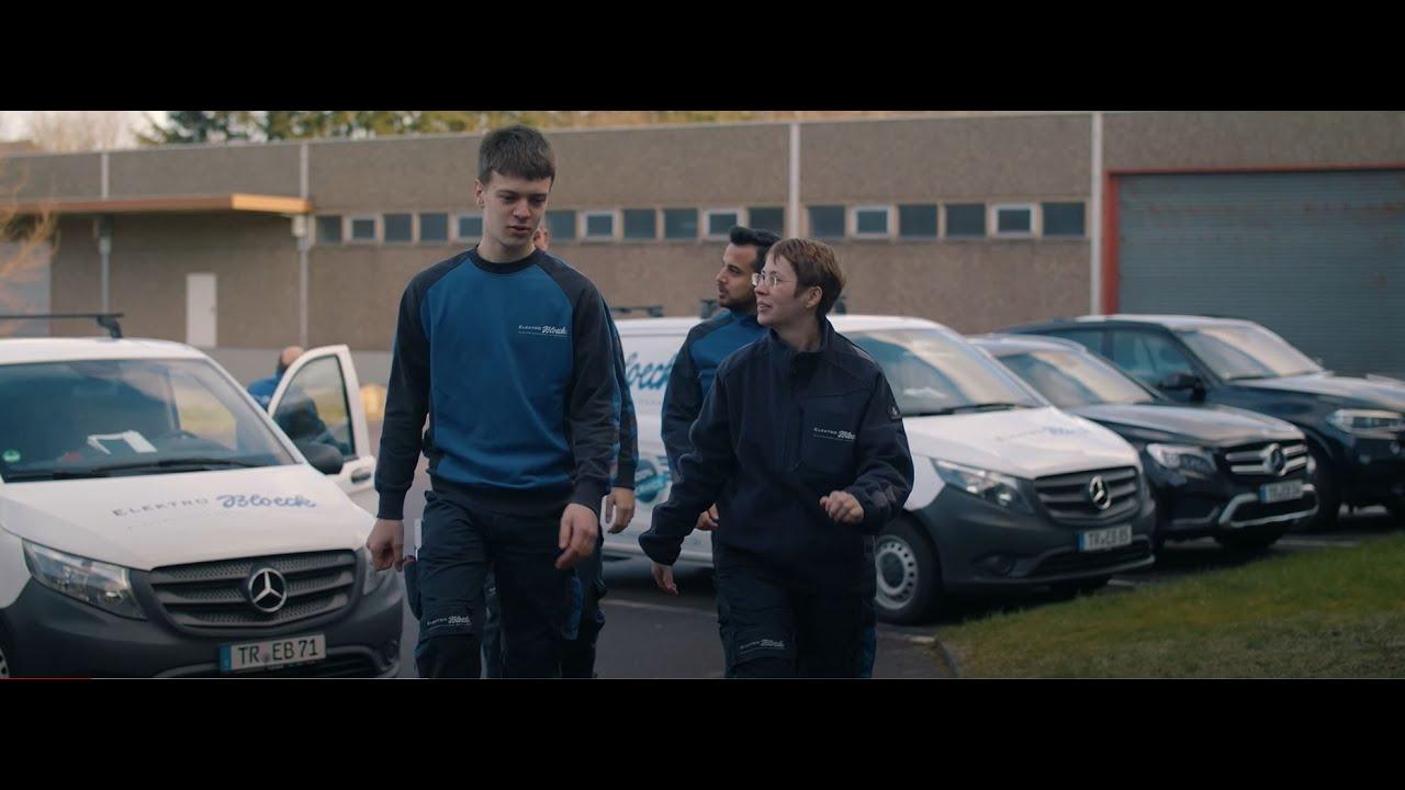 Azubi Recruitment Film für Elektro Bloeck
