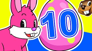 10 Little Easter Eggs | Learn To Count 1-10 With Surprise Eggs | Children Nursery Song For Babies