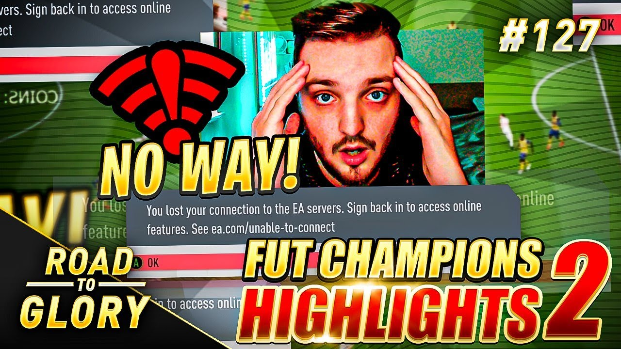EA! WHY DOES THIS KEEP HAPPENING?!? FUT CHAMPIONS ON THE ROAD TO GLORY! FIFA 20 ULTIMATE TEAM  #127