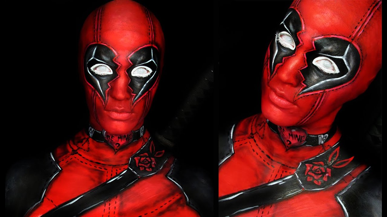 Makeup Quotes Wallpaper Deadpool Valentine Style Makeup Tutorial Youtube