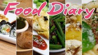 Food Diary // Vegetarisch, Gesund, Frisch.
