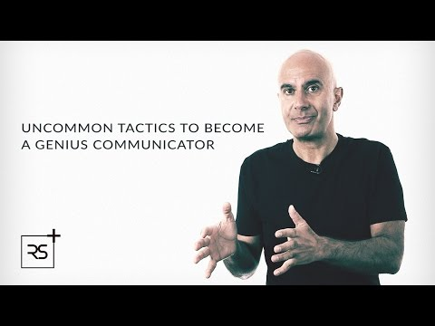 4 Tactics to Becoming a Genius Communicator | Robin Sharma