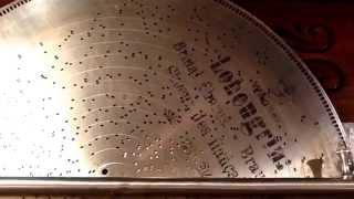 "Stella Grand Music Box ""Bridal Chorus"" from the Opera ""Lohengrin"" by Richard Wagner  #38"