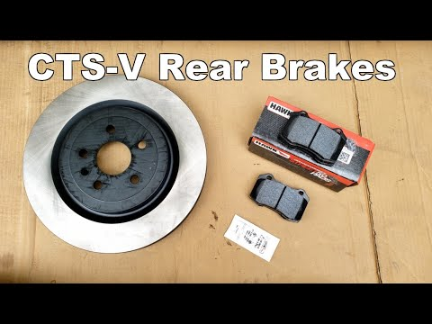 How to Replace Cadillac CTS-V Rear Brake Pads and Rotors – Brembo Brakes