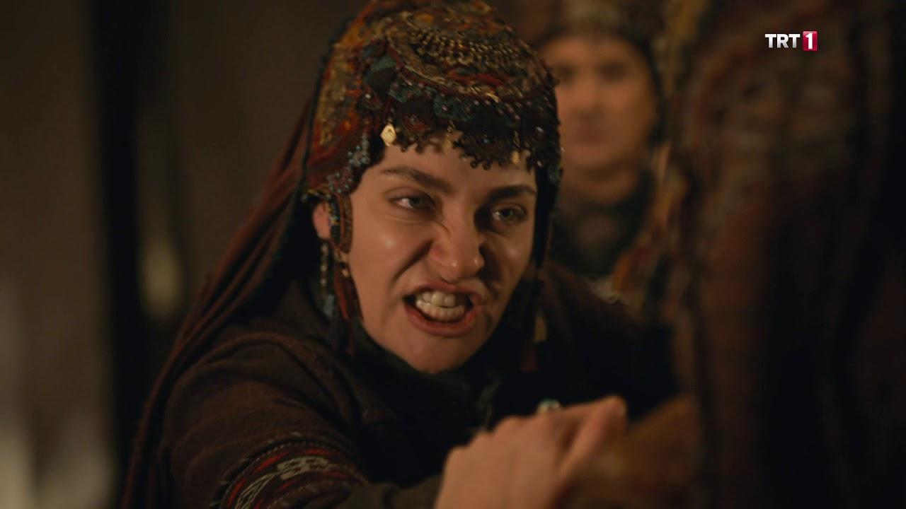 Diriliş Ertuğrul 135. bölüm - Selcan'dan Sırma'ya Tokat