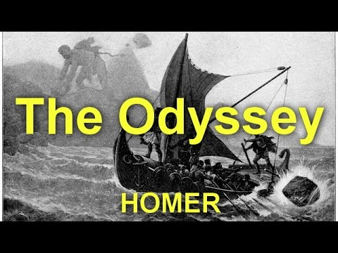 The Odyssey  by  HOMER (c. 8th cen - c. 8th cen) by Action,Adventure Fiction Audiobooks