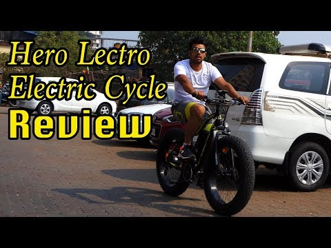Electric-assist cycle Review | Hero Lectro | Hindi | MotorOctane