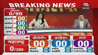 #ResultOnAajTak : सुबह 8 बजे से शुरू होगी वोटों की गिनती | किसका होगा राजतिलक ?