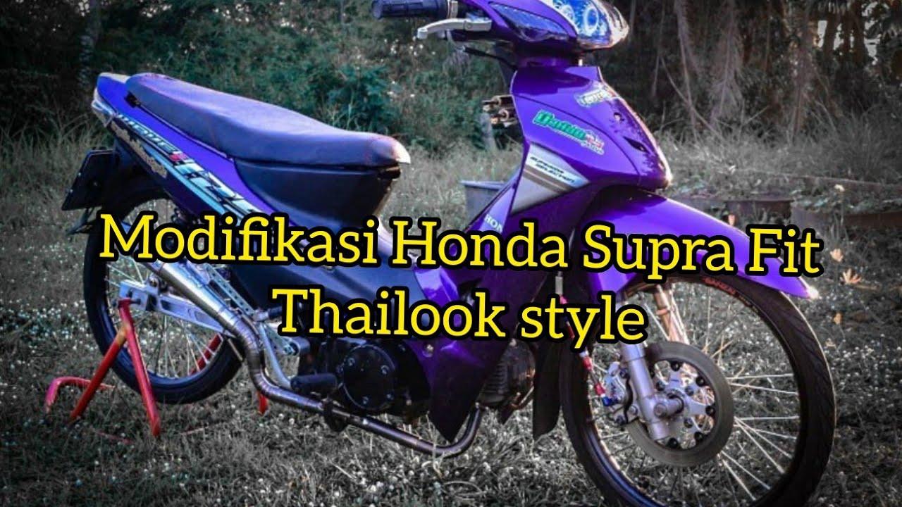 Restorasi Honda Supra Fit thailand||Motor Sultan
