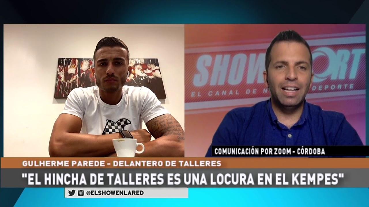 Talleres   Guillerme Parede en El Show En La Red 12 11 2020