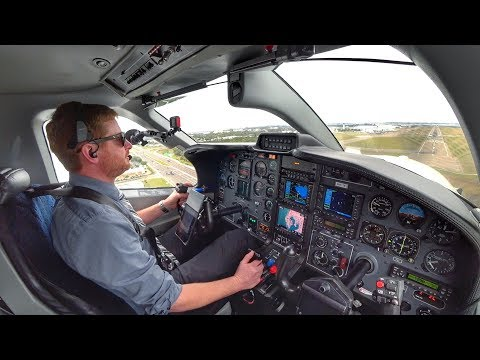 The Tampa Transition!   Single Pilot IFR Flight in Busy Airspace