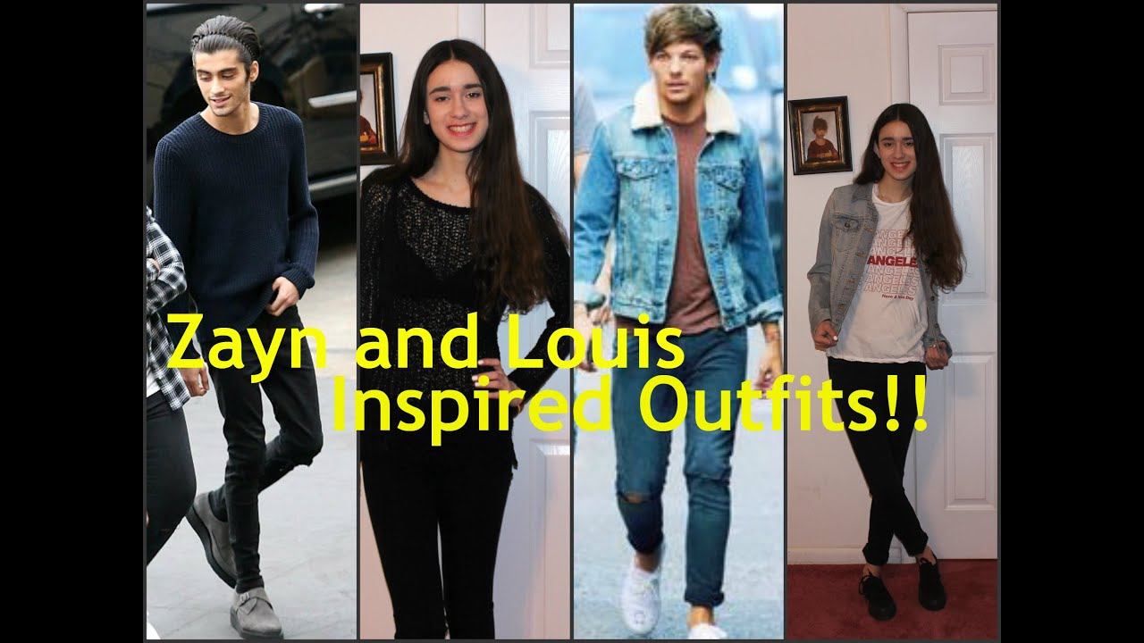 Louis Tomlinson And Zayn Malik Inspired Outfits