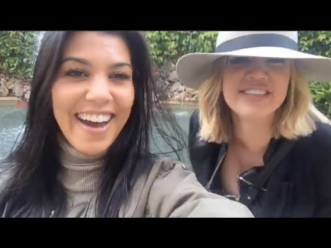 KOURTNEY KARDASHIAN SNAPCHAT VIDEOS (ft.Scott Disick,Lamar Odom,etc.)
