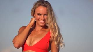 Caroline Wozniacki - Uncovered - Sports Illustrated Swimsuit 2017