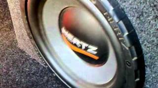 Bass test subwoofer Hertz 1200w - bass, i love you