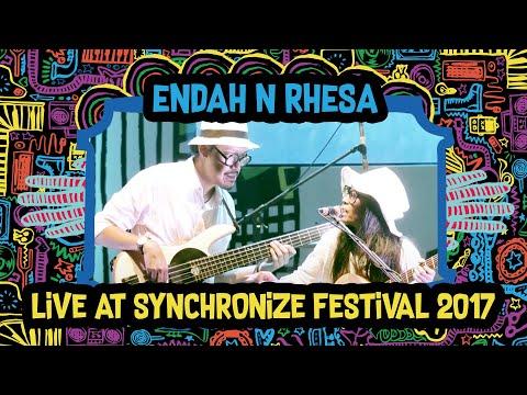 Endah N Rhesa live at SynchronizeFest - 8 Oktober 2017 Mp3