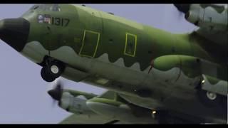 2018空軍嘉義基地營區開放 -C-130H型機性能展示