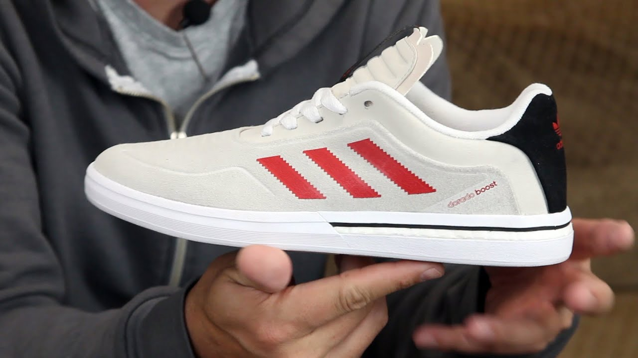 the latest 9bcbd 55088 Adidas Dorado ADV Boost Skate Shoes Review - Tactics.com