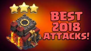BEST TH10 ATTACK STRATEGY 2018 - 3 STAR WAR ATTACK   CLASH OF CLANS
