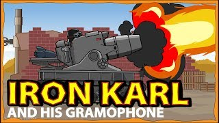 """""""Karl and Gramophone"""" Cartoons about tanks"""