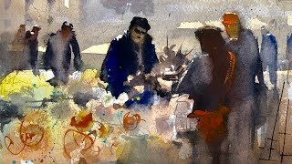 Advancing with Watercolor: Composition