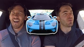 Driving the Ford GT with Markiplier