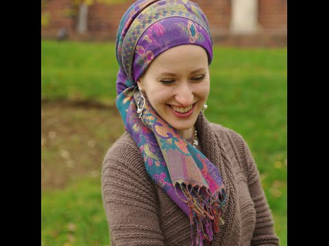 Wrapunzel Tapestry Easy Thick Pashmina Head Scarf Tutorial Youtube