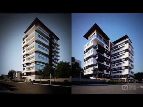 TOWER CASCADES FILM - 3D VISUALIZATION