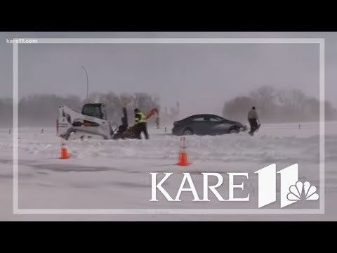 I-35 remains closed beyond Owatonna leading to Iowa