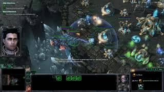Starcraft II Wings of Liberty Campaign Brutal Walkthrough - Supernova