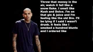 Cyhi Da Prince ft. Chris Brown & Big Sean- 100 Bottles lyrics