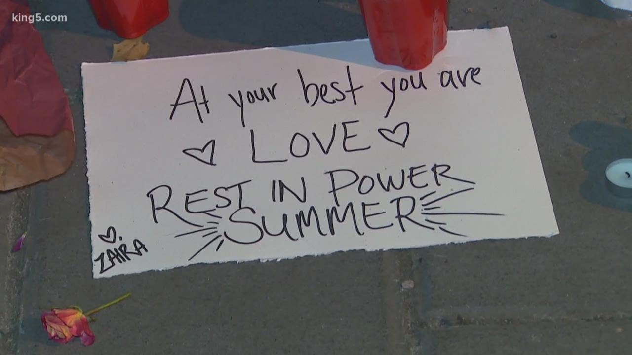 Summer Taylor, protester killed in Seattle, honored for 'standing up ...