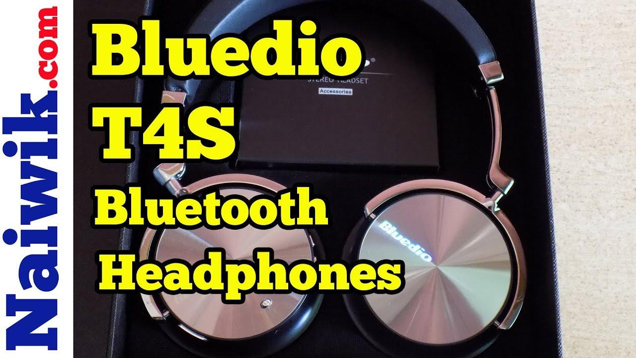 1e79870e689 Bluedio T4S Active Noise Cancelling Bluetooth Headphones || Unboxing ...