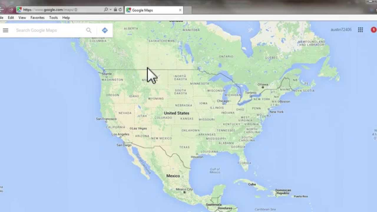 How to Open Google Map from Access Form YouTube – United States Map Google