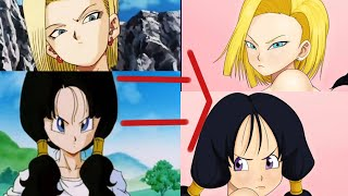 Android 18 And Videl My Way (Dragon Ball Z)