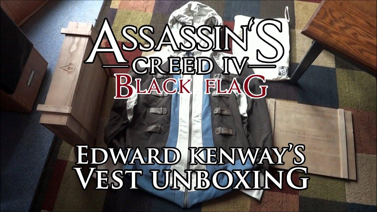 Assassins Creed IV 4 Black Flag Edward Kenway's Vest ...