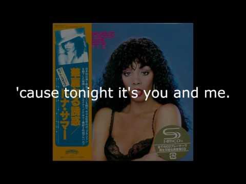 "Donna Summer - Dim All the Lights LYRICS SHM ""Bad Girls"" 1979"