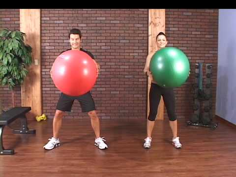Core exercises from Stability Ball 101