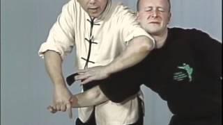Tai Chi, Тай чи Ч23 Bi Chan Long Jing, рычаг пальцев дожим головы