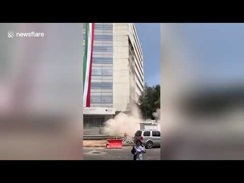 MEXICO CITY 7.1 EARTH QUAKE. MUST SEE!!!