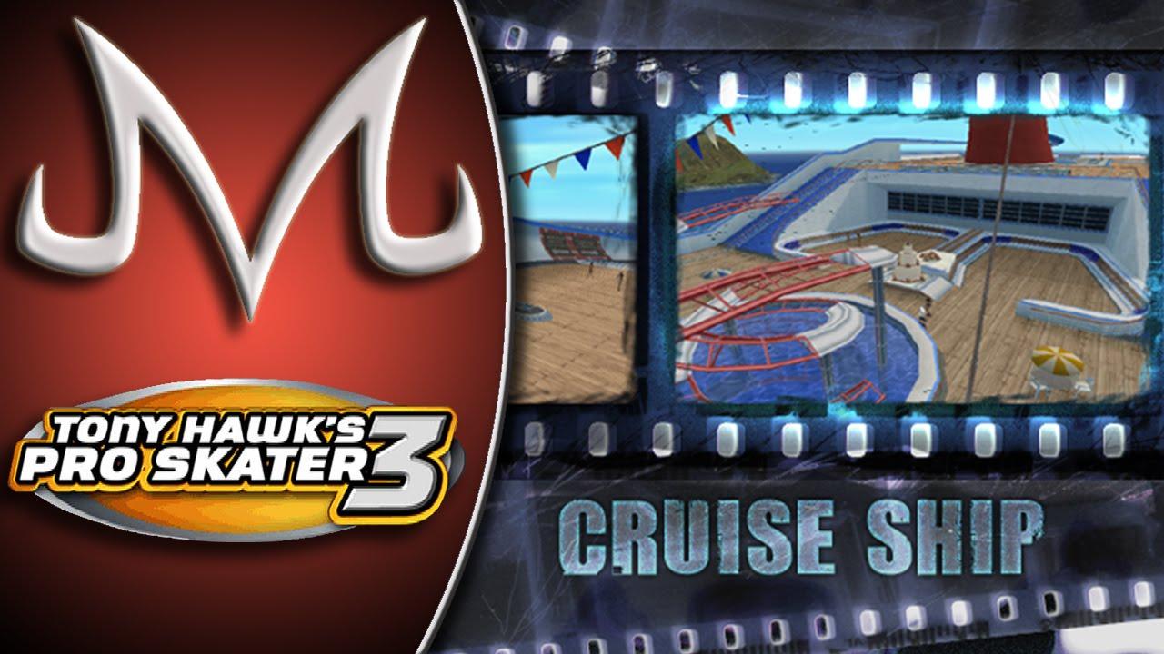 Tony Hawk39s Pro Skater 3 9  Cruise Ship  DETONA  YouTube