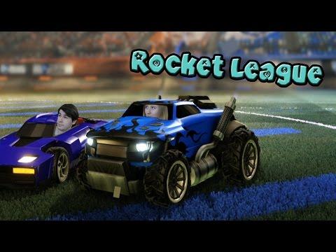 Rocket League ♦ФУТБОЛ МАШИНАМИ♦ [ИНДИ ИГРЫ НА ДВОИХ]