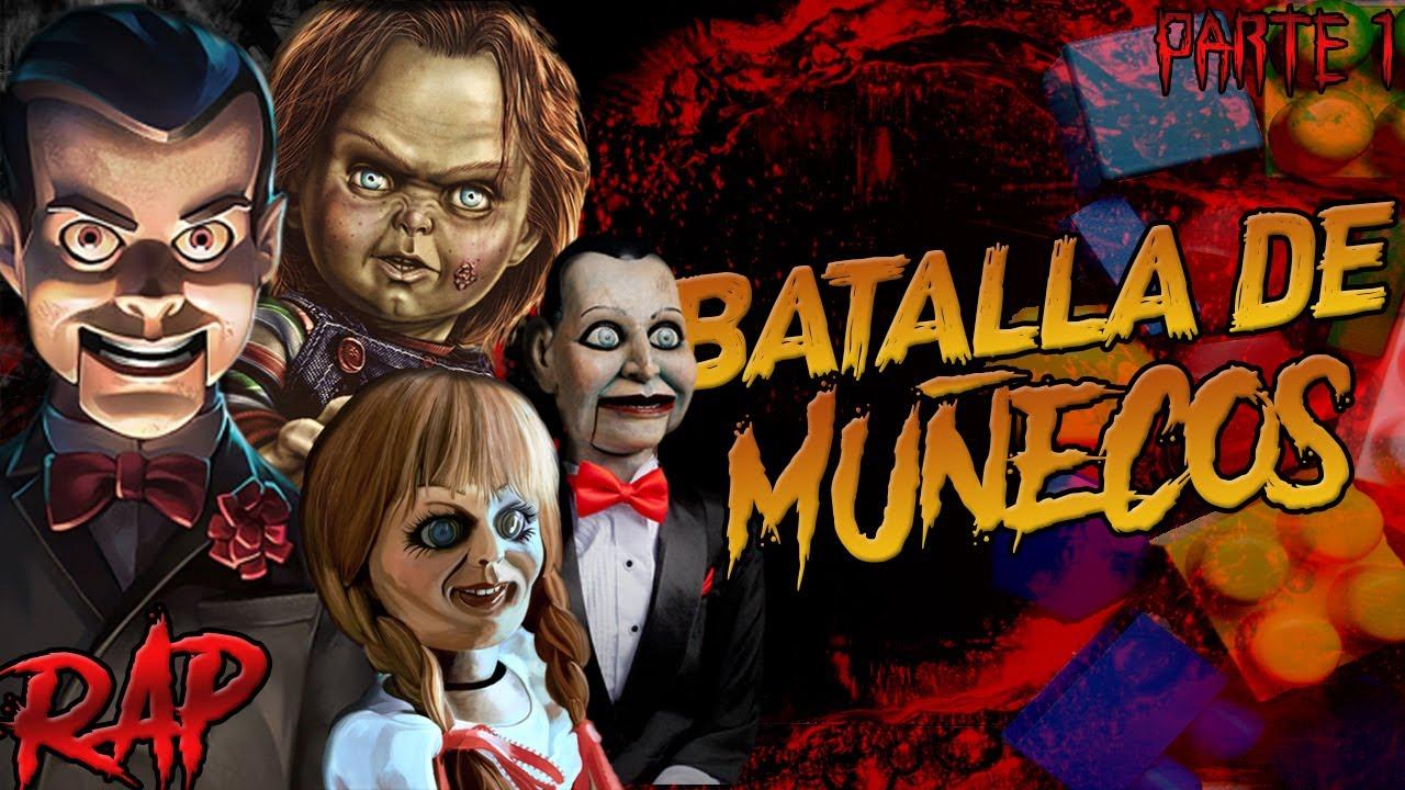 chucky vs billy vs slappy vs annabelle batalla de muñecos ren