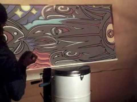11. Painting on Walls: Outline Mural Image